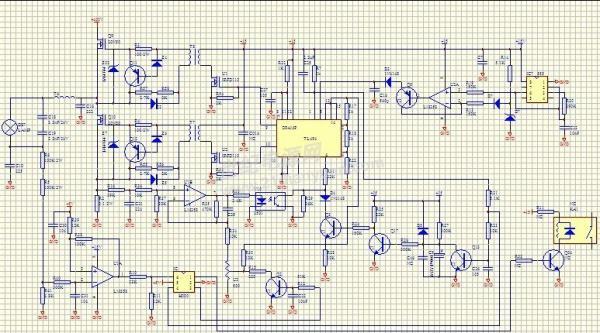 帮忙看看下面的电路图h000是什么ic