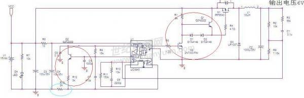 uc3843降压电路
