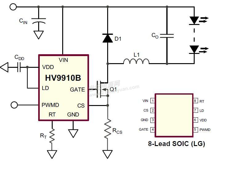 谁能帮我分析一下这个led驱动电路图-led/照明设计-网