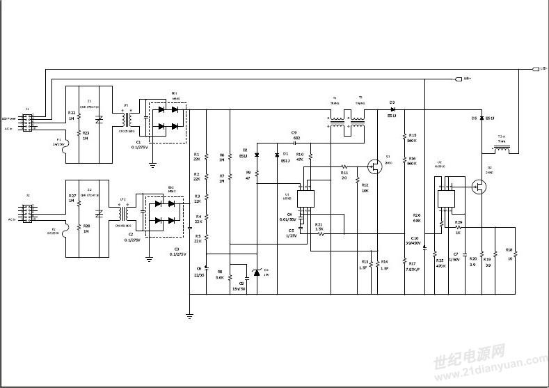 日本客户带来的单端输入电源led灯管--光效达到127lm/w!