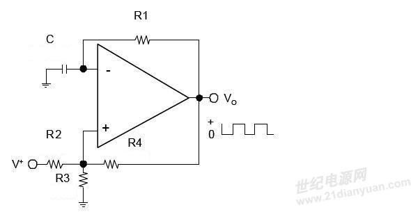 如何用运放做出一个三角波