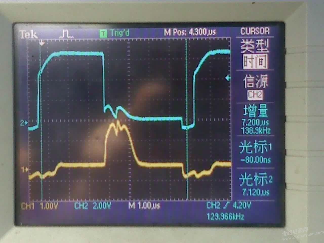 882/772作图腾柱,驱动mos管,882发热很大,而且比772发热大