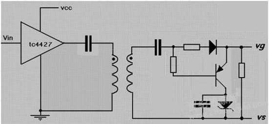 igbt的变压器驱动