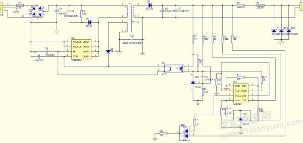 用viper22a做的12v/0.7a反激式开关电源为什么输出只有2-3v