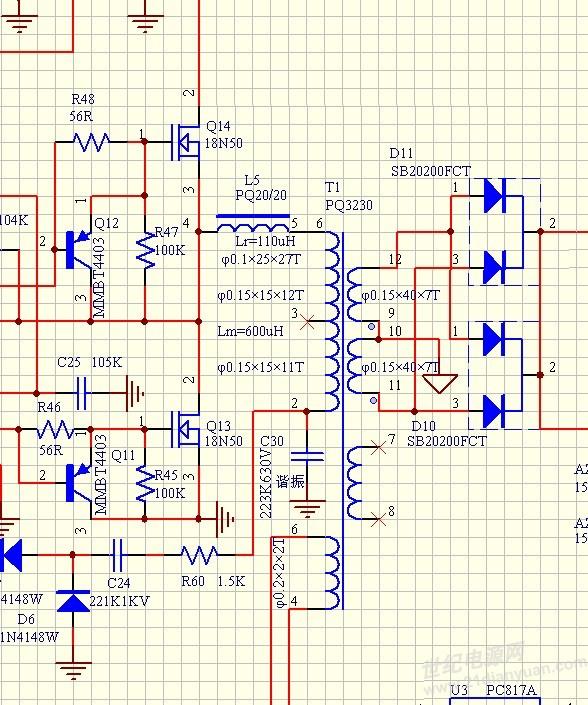 请教llc半桥谐振电路的工作原理