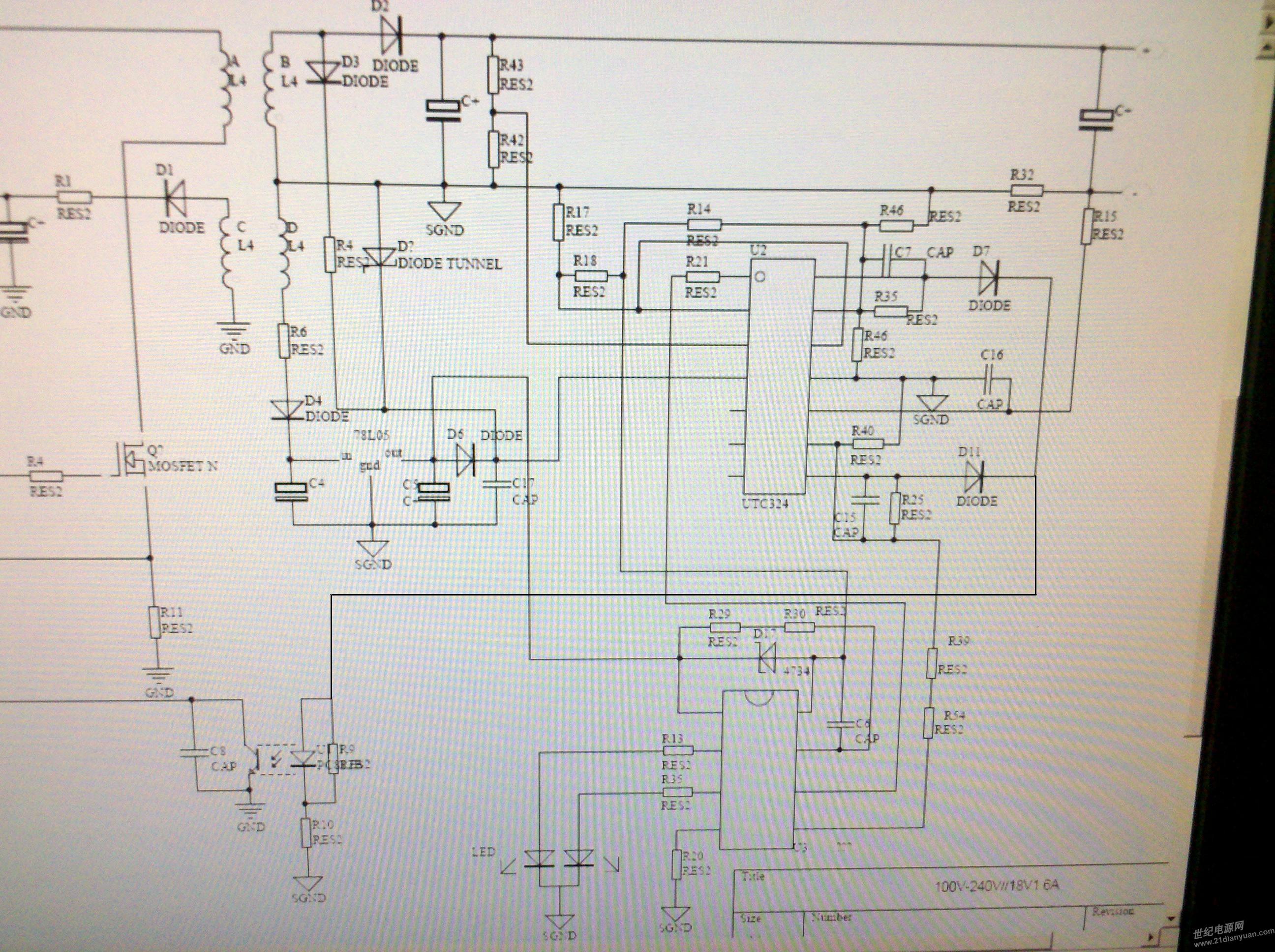 utc2030a单电源电路图