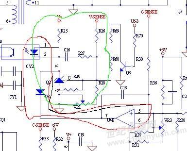 反激输出恒压或恒流的控制电路?