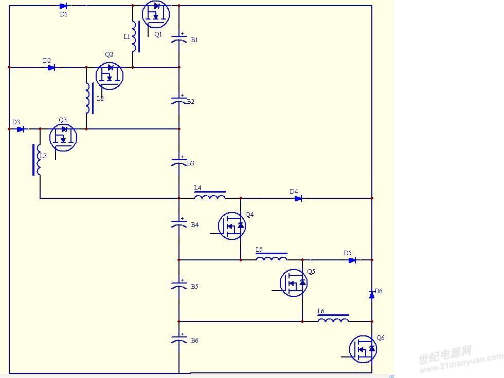 【龙腾原创】锂电池均衡电路的工作原理(完成)