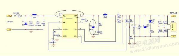 电路 电路图 电子 原理图 600_190