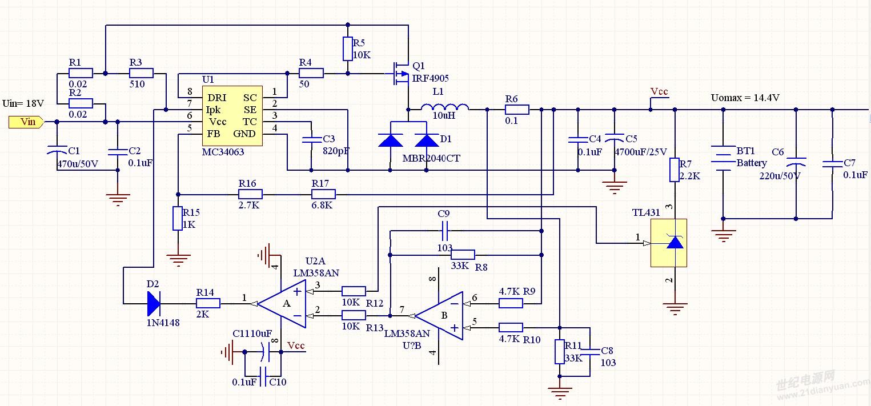 mc34063的应用