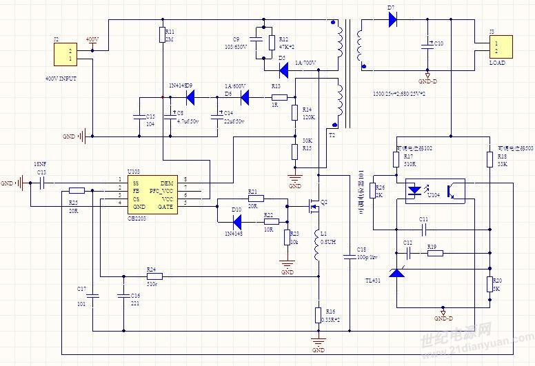 历届会议资料  cs管脚处要加rc低通滤波器,调节电阻r可以提高电路的带