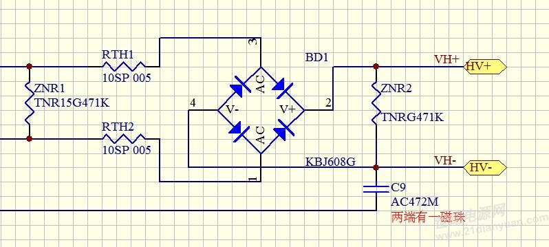 压敏电阻的应用