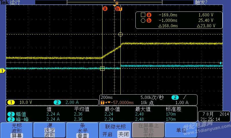 ap4313做恒压恒流电流过冲厉害