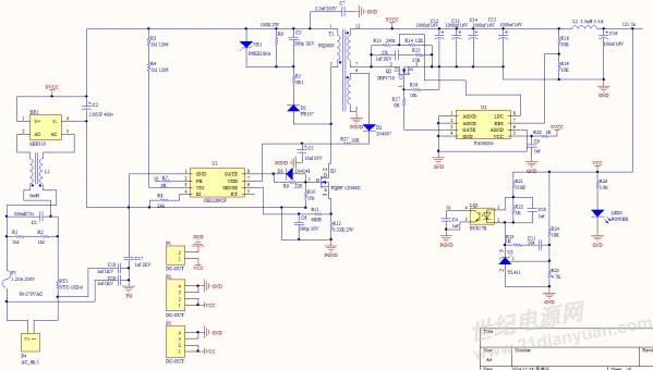 历届会议资料  计划采用ob2269cp fan6204 pq2620做一个60w的电源