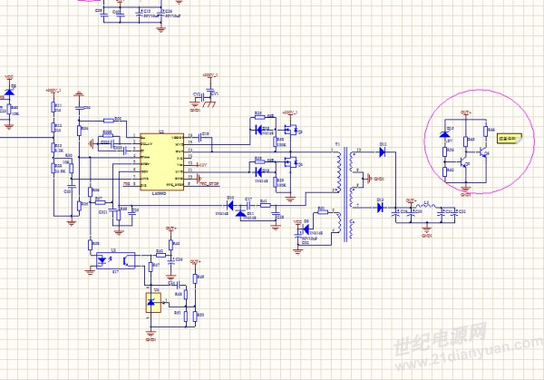 毕业设计做基于l6599的llc全桥串联谐振变换器