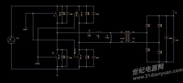 uc3863连接的llc电路为什么不工作