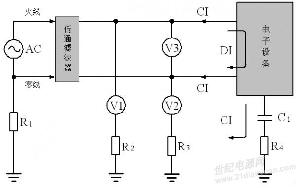 yb4328示波器电路图