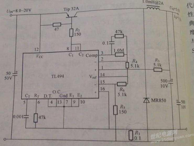 这是原本的电路图.刚刚一直不能上传.
