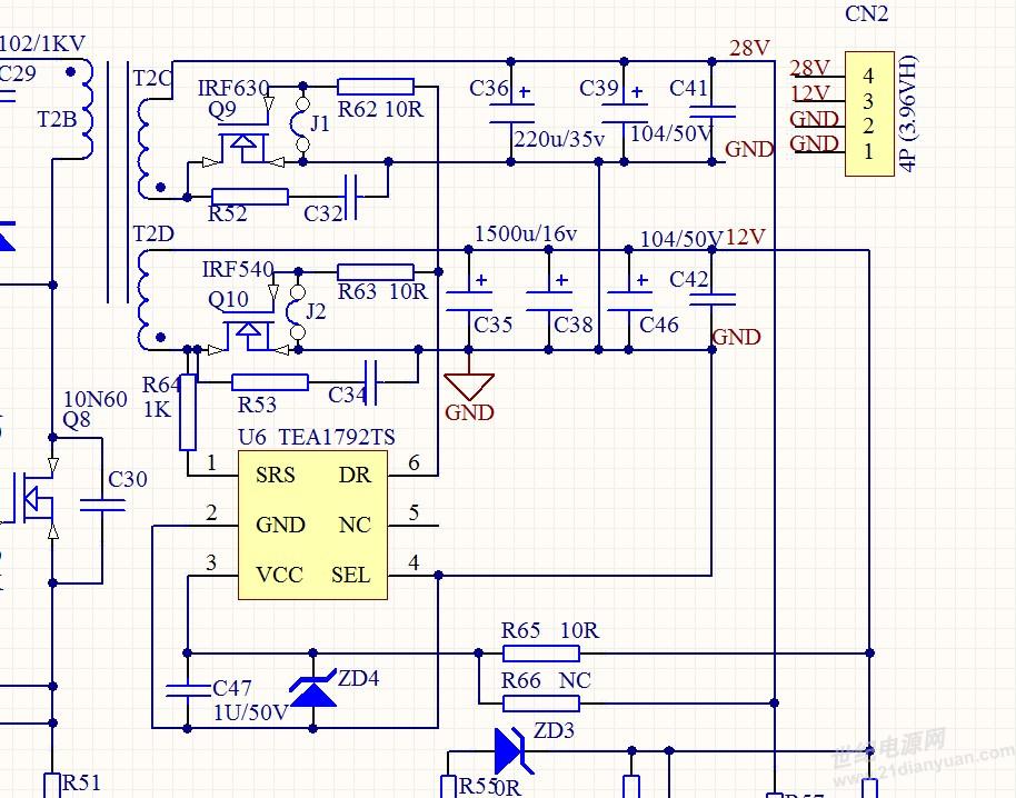 tea17531 电源电路图